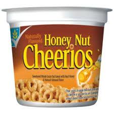 general mills honey nut cheerios cup