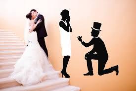Amazon Com Bride And Groom Full Color Decal Wedding Decor Full Color Sticker Wedding Salon Color Decal Flamingo Color Sticker Wedding Boutique Color Wall Art Bridal Salon Cn 129 44x53 Baby