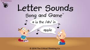 letter sounds song and game the