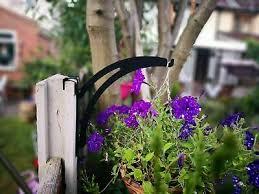 Concrete Fence Post Hook Over Hanging Basket Bracket Garden 10 99 Picclick Uk
