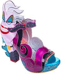 Amazon.com: Irregular Choice Disney Princess- La Sirenita Ursula: Clothing