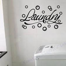 Diy Bubbles Laundry Room Vinyl Wall Art Thedollarspree Com