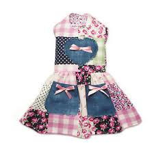 patchwork country chic dog dress little