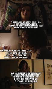 best hannah baker quotes scattered quotes