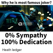 why he is most famous joker quiet quotes quietquotes facebook i