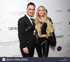 Celebrities attend Jonathan Antin Salon Opening hosted by Genlux at Stock  Photo - Alamy