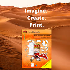 Royal Elements White Waterslide Decal Paper For Inkjet Printers Waterslide Decal Paper Decal Paper Vinyl Sticker Paper