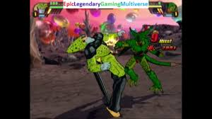 perfect cell vs imperfect cell in a dragon ball z budokai