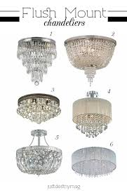 flush mount chandeliers for bedrooms