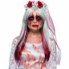 zombie bride face paint sfx makeup