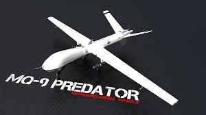 white mo 9 predator airplane uavs