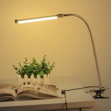 10W Đèn LED Để Bàn Kẹp Kẹp Đèn Bàn 36 Đèn Led 10 Cấp Độ Sáng Điều Chỉnh 3  Màu Đèn LED USB đọc Sách Led Để Bàn|led clamp