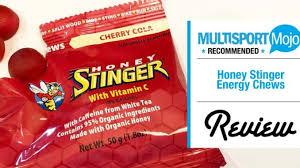 honey stinger energy chews review