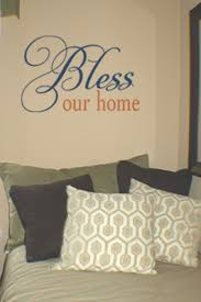 Bless Our Home Wall Decals Trading Phrases