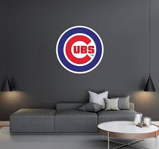 Chicago Cubs Logo Wall Decal Egraphicstore