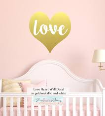 Love Heart Wall Decal