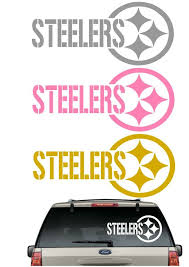 No Reserve Large Steelers Window Or Wall Decal 22 X 10 Football Decal Steelers Wall Decals