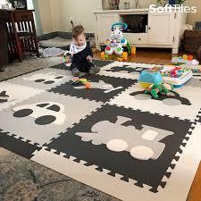 Play Mat Foam Interlocking Floor Foam Puzzle Mat Softtiles