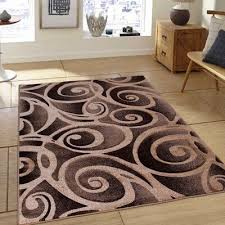 rugs evolution swirl champagne area rug