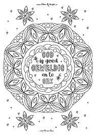 Christelijke Kleurplaat God Is Goed Kleurversjes Nl