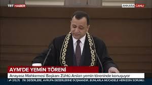 TRT Haber - Anayasa Mahkemesi Başkanı Zühtü Arslan yemin...