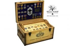 military retirement keepsake shadow box
