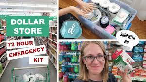 dollar 72 hour emergency kit