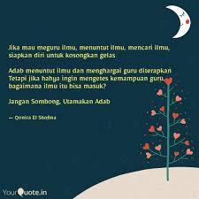 best adabmenuntutilmu quotes status shayari poetry thoughts