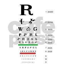 Snellen Cherokee Eye Chart 20x12 Wall Decal By Bearhide Cafepress