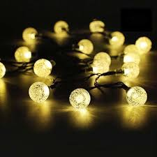 50 led solar string lights outdoor