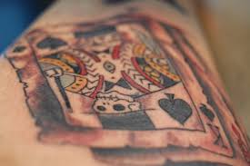 playing card tattoo designs meanings