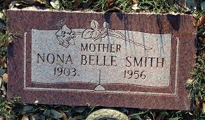 Nona Belle Grider Smith (1903-1956) - Find A Grave Memorial
