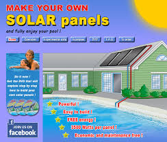 do it yourself solar panels for pool