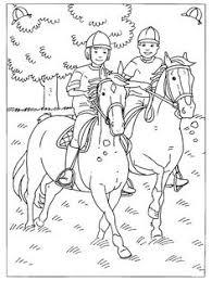 9 Beste Afbeeldingen Van Kleurplaat Paard Paard Knutselen