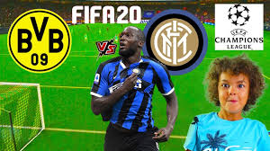 BORUSSIA DORTMUND vs INTER (PRONOSTICO!!) Fifa 20 Gameplay ...