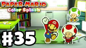 Paper Mario: Color Splash - Gameplay Walkthrough Part 35 - Green ...