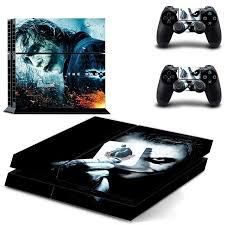 New Ps4 Decal Cover Skin Joker Sticker For Playstation 4 Console W 2 Controller Ebay