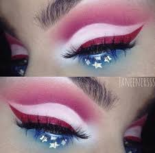 bold 4th of july makeup ideas that will