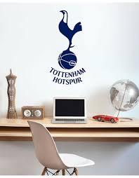 Spurs Navy Crest Wall Sticker Official Spurs Shop