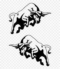 Buffalo Bull Cow Jdm Auto Car Bumper Window Vinyl Decal Raging Bull Bull Logo Free Transparent Png Clipart Images Download
