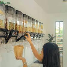 china bulk food dispenser gravity bulk