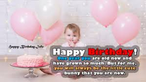 happy st birthday wishes messages for baby boy girl