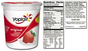 is yoplait yogurt healthy live clean
