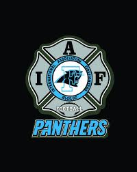 Iaff Carolina Panthers Car Decal For Union Firefighters Free Etsy