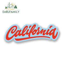 Big Discount 0cec Earlfamily 15cm X 5cm Car Styling California Decal Car Sticker For Bumper Windows Laptop Travel Luggage Waterproof Accessories Cicig Co