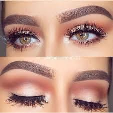 eye makeup look amazing eyebrows