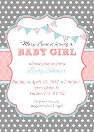 Baby Girl Shower Invite Tarjetas De Cumpleanos Para Imprimir