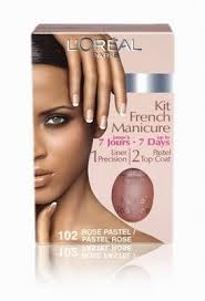 l oréal paris french manicure set