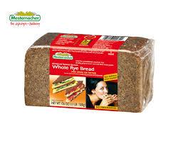 whole rye bread mestemacher
