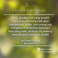 daily inspiration jki maranatha